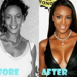 Vivica Fox Before and After Breast Implant