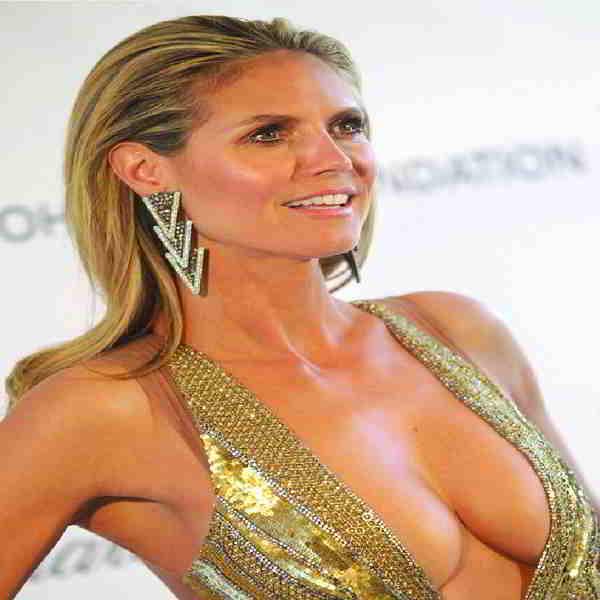 Heidi Klum bra size measurements