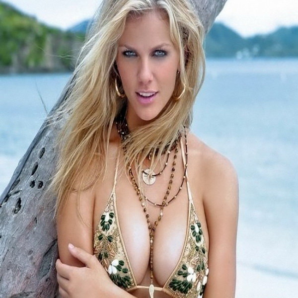 And thought. Brooklyn decker boob size was