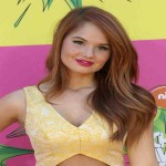 Debby Ryan Bra Size 2012 and Body Measurements