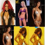 TOP 8 Bikini Models Breast size