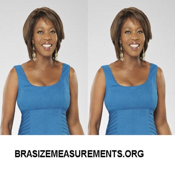 Alfre Woodard Bra Size Measurements