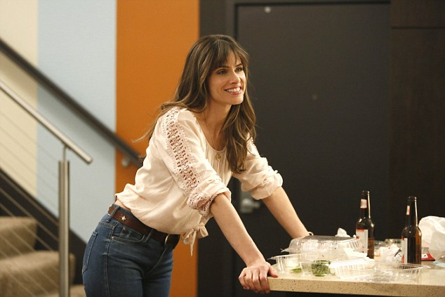 A bump in the road: In March, Amanda's HBO series Togetherness was cancelled after just two seasons and she admits that this has made her all the more anxious about having to compete against younger stars