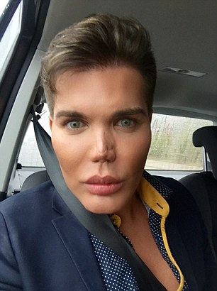 Surgery addict who's spent 10 years turning himself into a real-life Ken Doll is to get a new £50,000 fake nose on the NHS after contracting a flesh eating bug