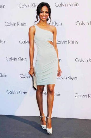 Zoe Saldana Body Measurements