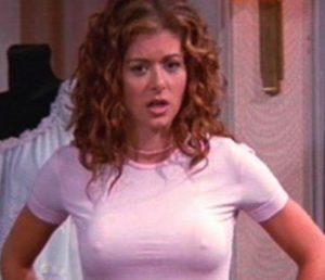 Debra Messing Bra Size Body Measurements